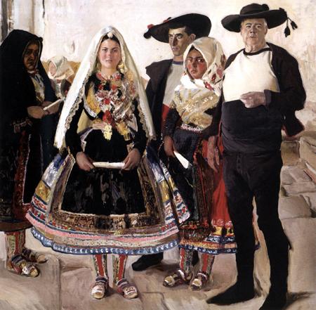 Joaquín Sorolla y Bastida - Spanische Braut