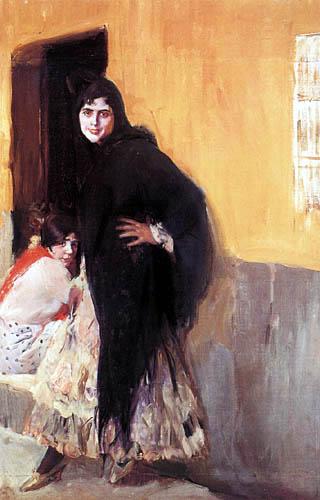 Joaquín Sorolla y Bastida - Sevillanerinnen