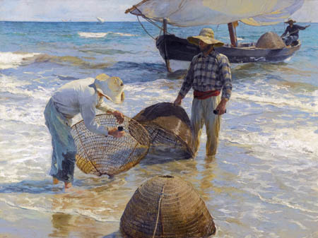 Joaquín Sorolla y Bastida - Pêcheurs de Valencia