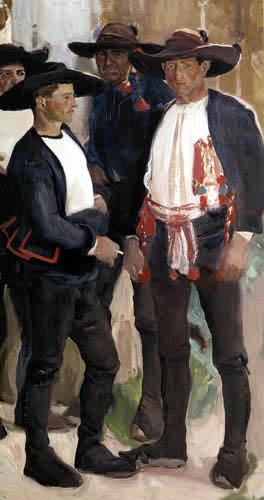 Joaquín Sorolla y Bastida - Types of Lagartera