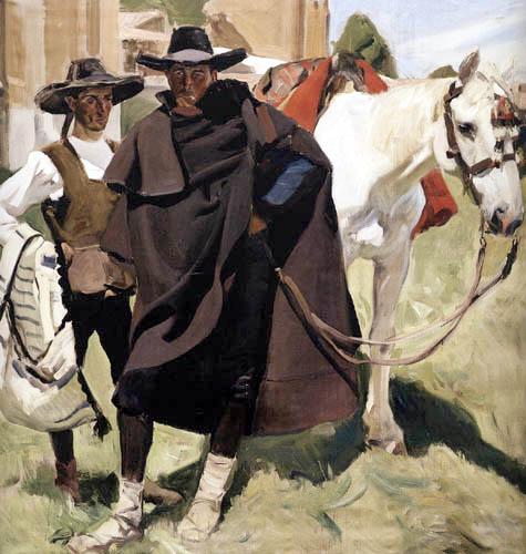 Joaquín Sorolla y Bastida - Types of Ávila