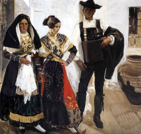 Joaquín Sorolla y Bastida - Leute aus Salamanca