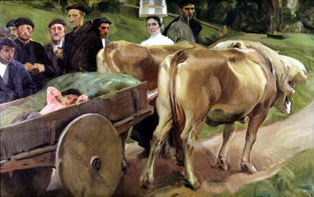 Joaquín Sorolla y Bastida - Types of Guipúzcoa