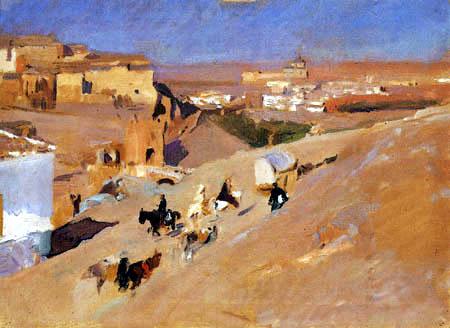 Joaquín Sorolla y Bastida - Toledo von San Servando