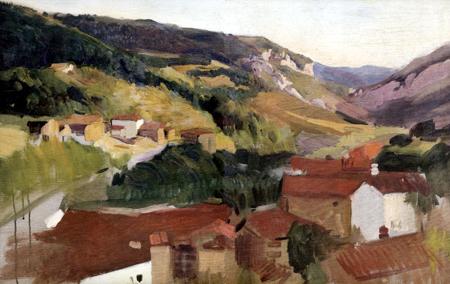 Joaquín Sorolla y Bastida - Valley of Roncal