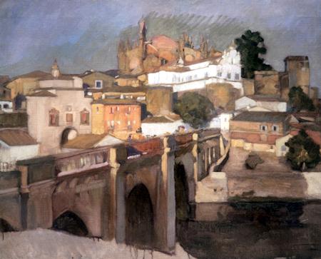Joaquín Sorolla y Bastida - View of Plasencia