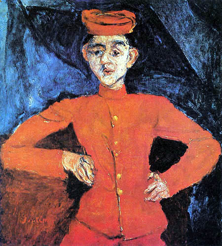Chaim Soutine - Boy in Maxim