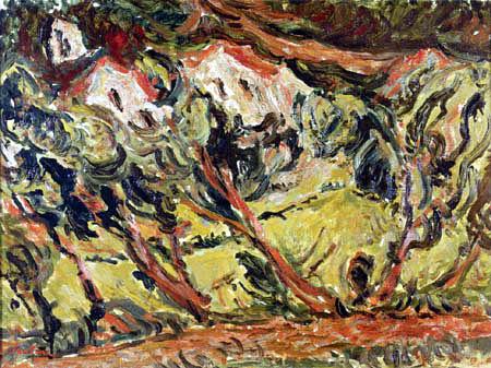 Chaim Soutine - Landscape near Céret