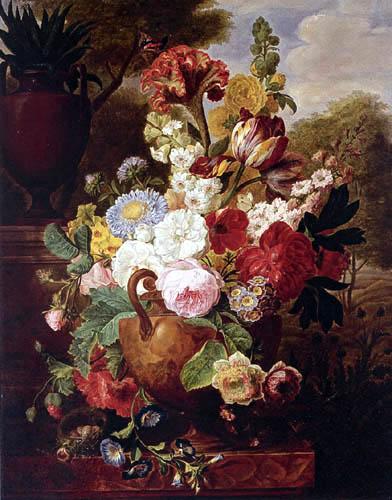 Cornelis van Spaendonck - Flower still life