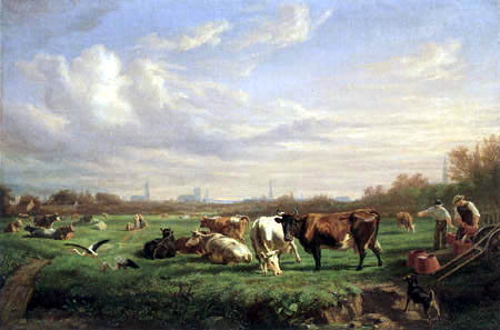 Otto Speckter - The pastures before the Dammtor, Hamburg