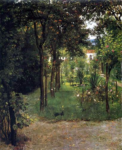 Johann Sperl - Pharmacist garden in Kraiburg