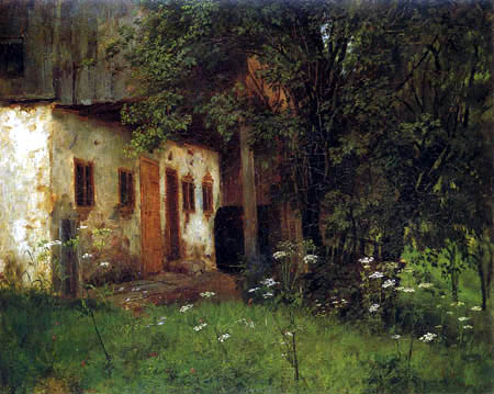Johann Sperl - Cortijo en Pinzberg