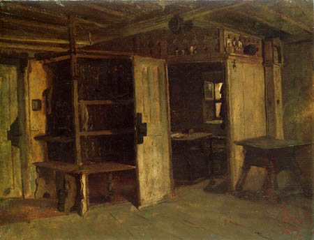 Johann Sperl - Farmhouse room
