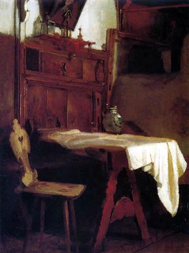 Johann Sperl - Farmhouse room