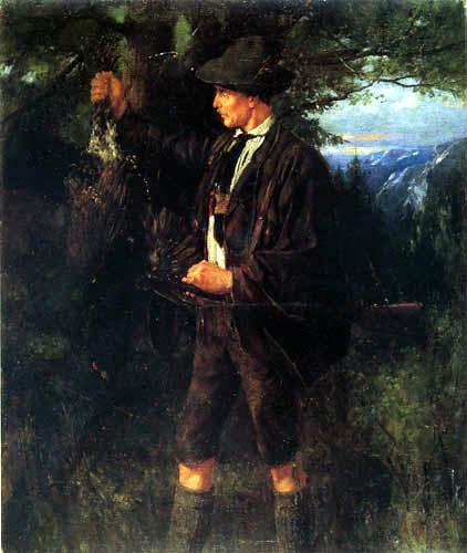 Johann Sperl - The wood grouse hunter