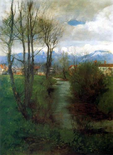Johann Sperl - Der Jenbach bei Bad Feilnbach
