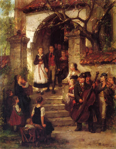 Johann Sperl - Boda franca
