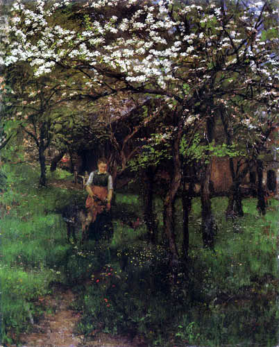 Johann Sperl - Frühling in Kutterling