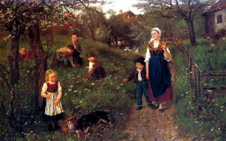 Johann Sperl - Spring time
