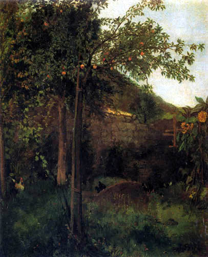 Johann Sperl - In the Garden