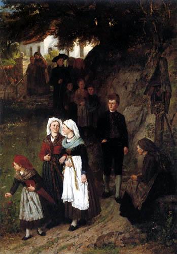 Johann Sperl - Nach der Kirche