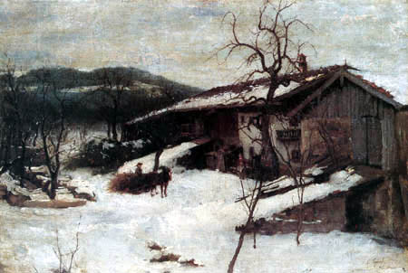 Johann Sperl - Winter in Kutterling