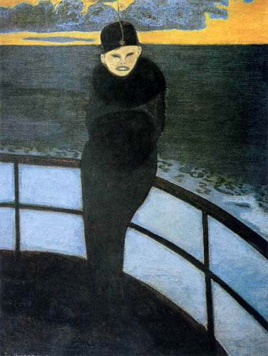 Léon Spilliaert - The passage