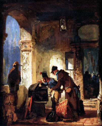 Carl Spitzweg - The Papal Guard