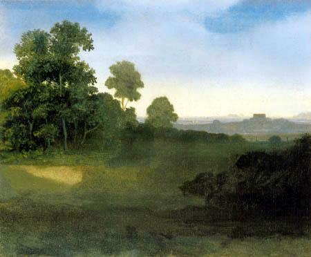 Carl Spitzweg - Italienische Landschaft