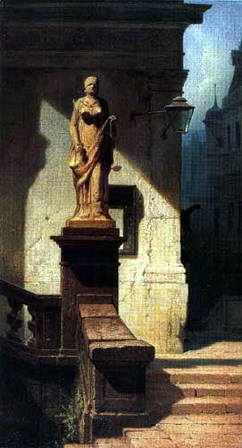 Carl Spitzweg - Justitia