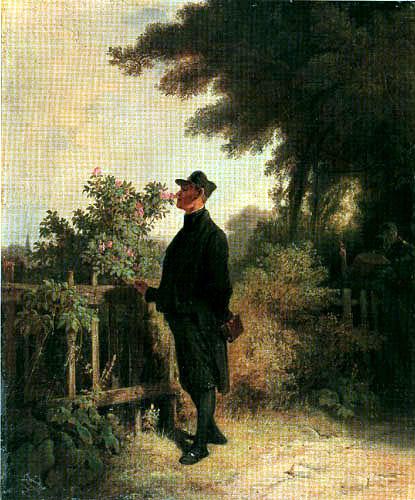 Carl Spitzweg - Rosenduft