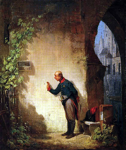 Carl Spitzweg - The Flycatcher
