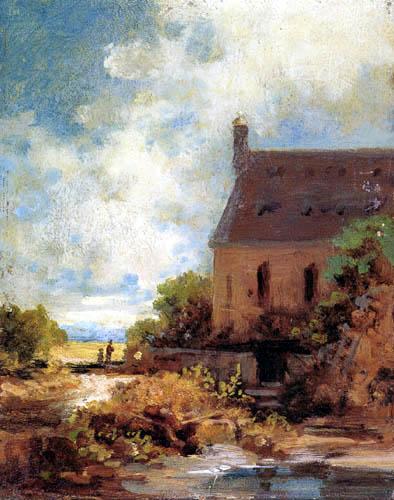 Carl Spitzweg - An der Waldkapelle
