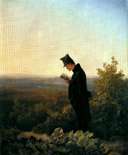 Carl Spitzweg - The evening breviary