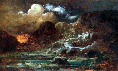 Carl Spitzweg - Die Drachenhöhle