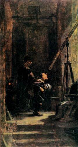 Carl Spitzweg - Astronomer