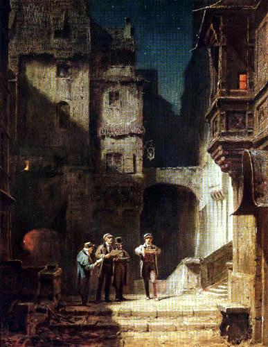 Carl Spitzweg - Das Quartett