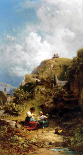 Carl Spitzweg - Summer day