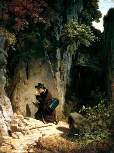 Carl Spitzweg - The Geologist