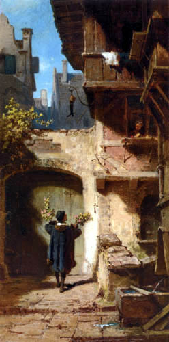 Carl Spitzweg - The Felicitator