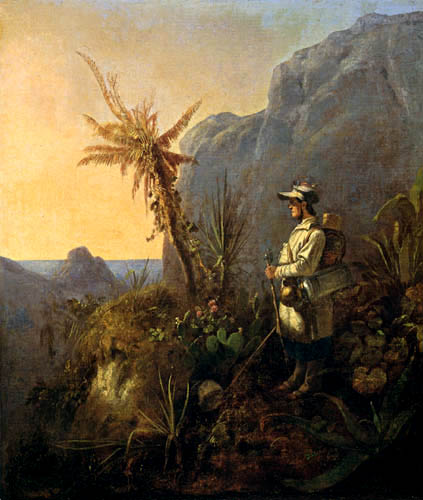 Carl Spitzweg - Tropical researcher