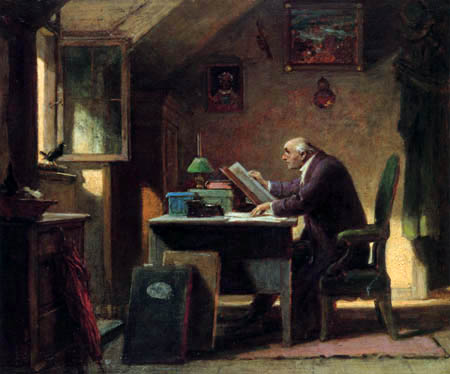 Carl Spitzweg - The Visit