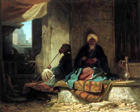 Carl Spitzweg - In the Turkish bazaar