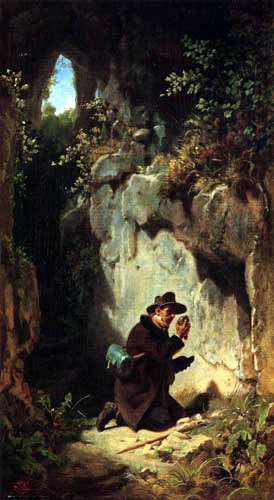 Carl Spitzweg - The Geologist