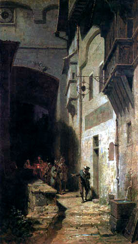 Carl Spitzweg - Guard Brigade