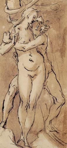 Bartholomäus Spranger - Adam und Eva