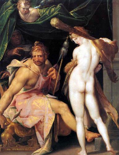 Bartholomäus Spranger - Herkules und Omphale
