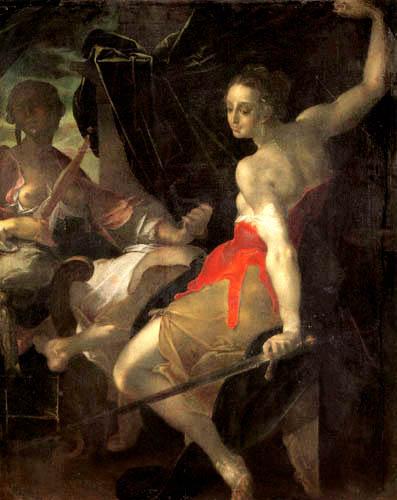 Bartholomäus Spranger - Allegorie der Gerechtigkeit