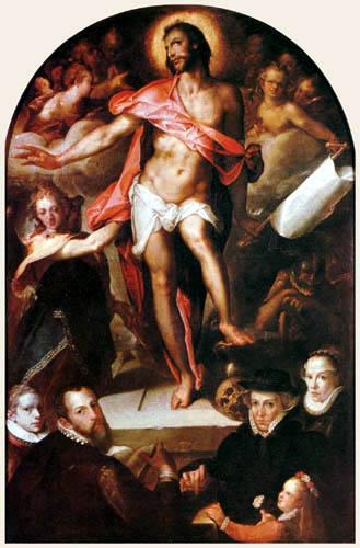 Bartholomäus Spranger - Auferstehung Christi