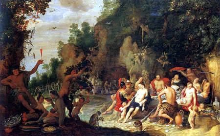 Adriaen van Stalbemt - Banquet of the Gods